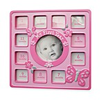 AD Sutton Girl Butterfly Frame First 12 Months