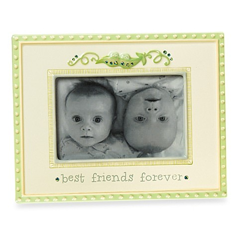 Peas In A Pod Twins Photo Frame