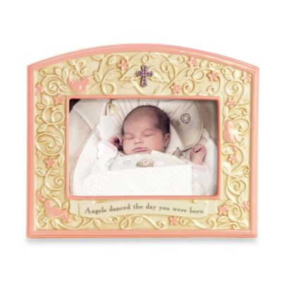 Angels Danced the Day Pink Picture Frame