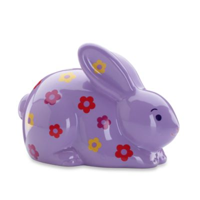 Gorham® Little Girl with a Curl Bunny Bank