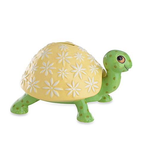 Gorham® Pitter Patter Turtle Bank