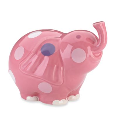 Gorham® Little Girl with a Curl Elephant Bank