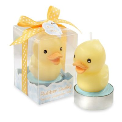 Kate Aspen® Rubber Ducky Candle