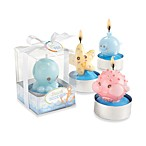 Kate Aspen® Beach Buddies Seashore Candles (Set of 4)