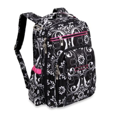 Ju-Ju-Be® Be Right Back Backpack Style Diaper Bag in Shadow Waltz