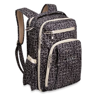 Ju-Ju-Be® Be Right Back Backpack Style Diaper Bag in Licorice Twirl