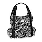 Kenneth Cole Reaction® Essex Street 4-Poster Diaper Bag in Black/Cream