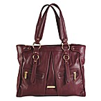 Timi & Leslie Dawn Tote in Burgundy