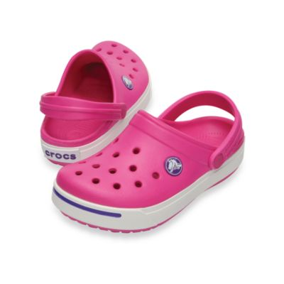 Crocband™ II Kids in Magenta/Neon Purple
