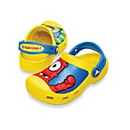 Creative Crocs Yo Gabba Gabba Clog in Yellow/Ocean