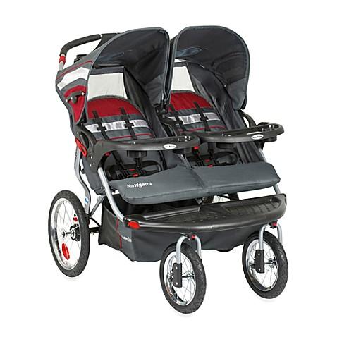Baby Trend 174 Navigator Double Jogging Stroller