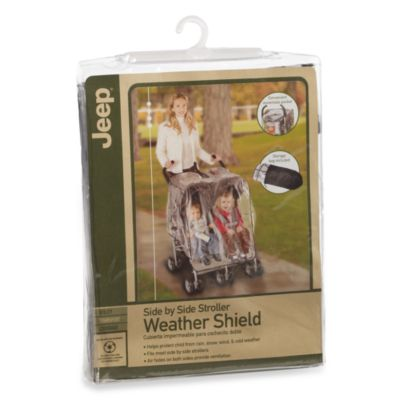 Jeep® Side by Side Stroller Weather Shield
