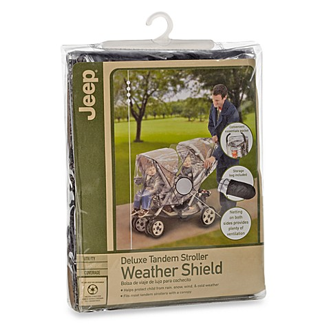 J is for Jeep® Deluxe Tandem Stroller Weather Shield