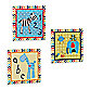 CoCaLo Brooklyn 3-Piece Canvas Wall Art