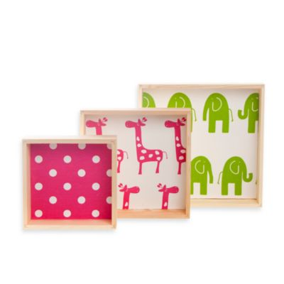 Glenna Jean Ellie & Stretch Wall Hanging 3-Blocks