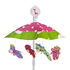 Glenna Jean Ellie & Stretch Musical Mobile in Pink/Green