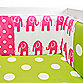 Glenna Jean Ellie & Stretch Crib Bumper