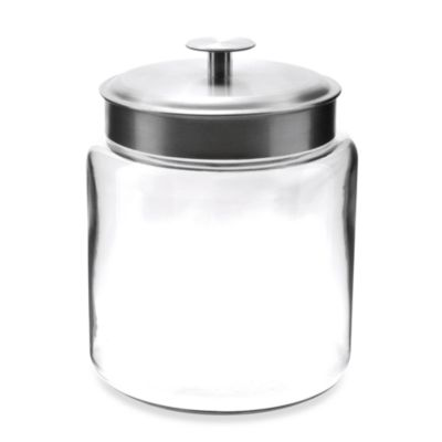 Anchor Hocking® Montana 96-Ounce Glass Jar with Lid