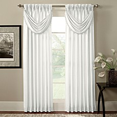 Argentina Pinch Pleat Back Tab Interlined Window Panels