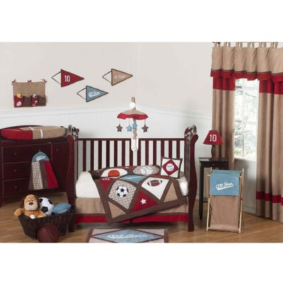 Sweet Jojo Designs All Star Sports 11-Piece Crib Bedding Set
