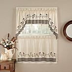 Birds Window Curtain Tier Pair