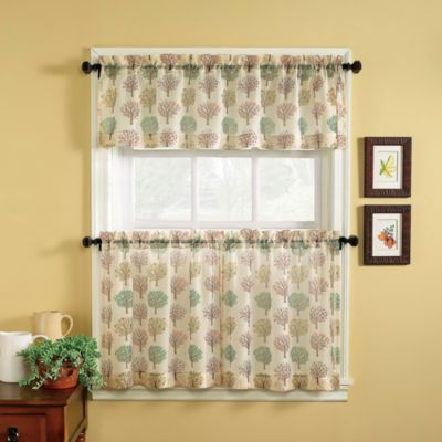 Orchard 36-Inch Window Curtain Tier Pair