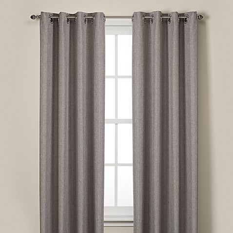 Rockport Blackout Grommet 108 Inch Window Curtain Panel In