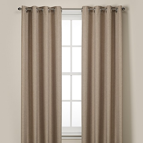 Rockport Blackout Grommet Window Curtain Panels - Bed Bath ...
