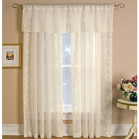 Addison Rod Pocket Window Curtain Panels