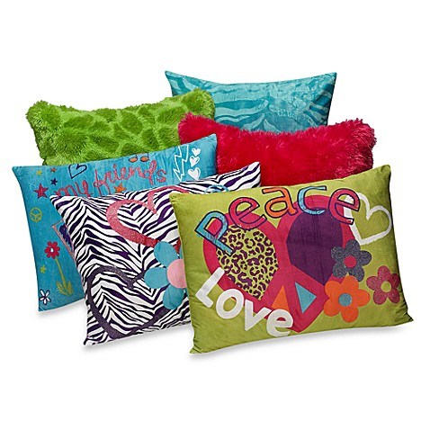 Idea Nuova Colorful Toss Pillows