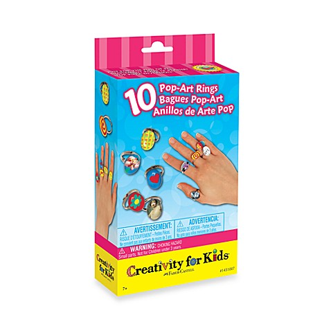 Creativity For Kids® Pop-Art Rings Activity Kit