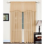 Mystic Sheer Rod Pocket Window Curtain Panel