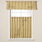 Scroll Leaf Window Curtain Tier Pair