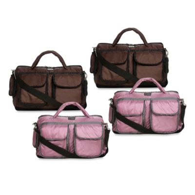 7 A.M.® Voyage Small Diaper Bag in Metallic Lilac