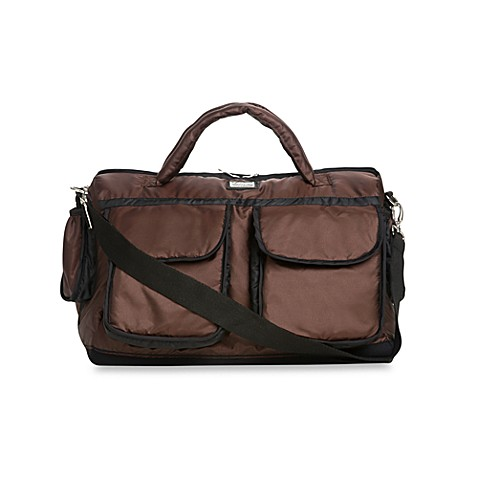 7 A.M.® Voyage Small Diaper Bag in Metallic Brown
