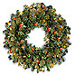 National Tree 2-Foot Kincaid Spruce Pre-Lit Wreath with Multicolor Lights