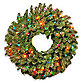 Norwood Fir 24-Inch Wreath Pre-Lit with 50 Multi-Colored Lights