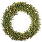 Norwood Fir 5-Foot Wreath Pre-Lit with 300 Clear Lights