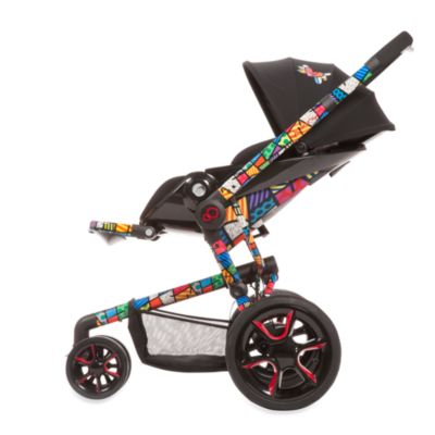 Quinny® Moodd™ Stroller Frame by Britto™ in Black/ Britto™ Design