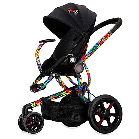 Quinny Moodd Stroller Fabric Seat Insert by Britto in Black