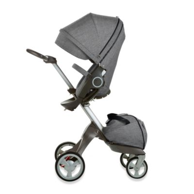 Stokke® Xplory® Stroller in Black Melange