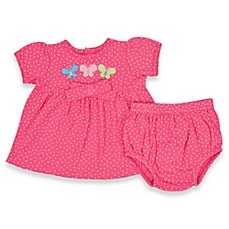 Lamaze 2-Piece Pink Dot Dress Set