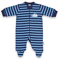 Lamaze Blue Dog Zip Up Footie