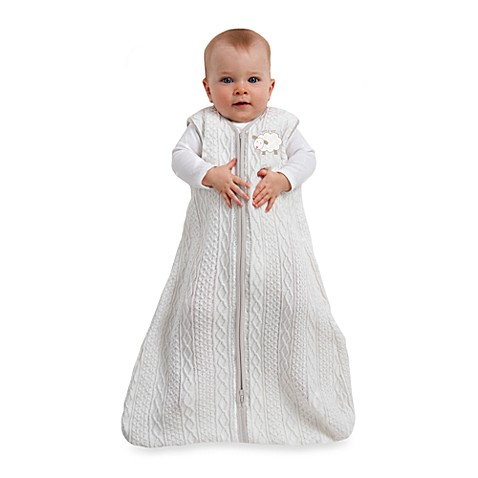 HALO® SleepSack® Small Cable Knit Wearable Blanket in Cream