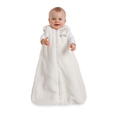 Halo SleepSack Cream Sherpa Wearable Blanket
