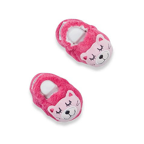 Lamaze Pink Cat Booties - Up to 6 Months