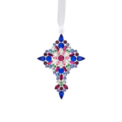 Reed & Barton® Second Edition Crystal Jeweled Cross Ornament