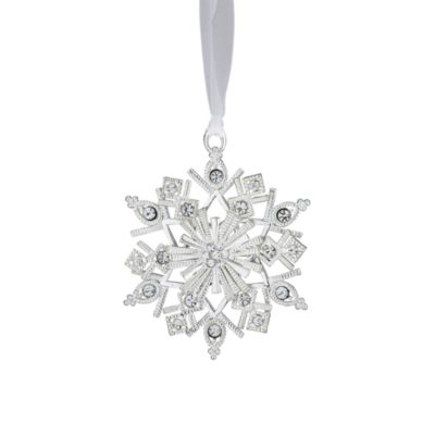 Reed & Barton® Second Edition Crystal Snowflake Ornament