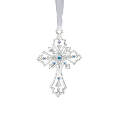 Reed & Barton® Crystal Cross Ornament