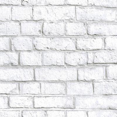 RoomMates® Whitewash Brick Peel & Stick Wallpaper